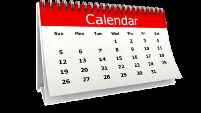MISA Calendar of Events